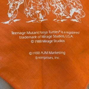 Other - 1988 VTG Ninja Turtles Orange Bandana